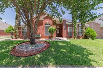Garland Single Family Home Active Option Contract: 1402 Jennifer Drive