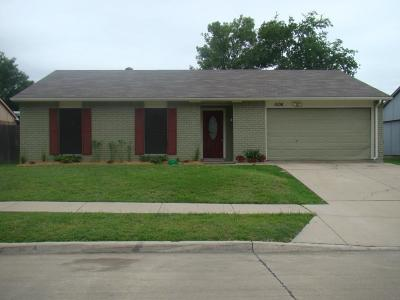 The Colony Single Family Home For Sale: 5106 Worley Drive