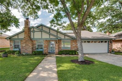 Bedford Single Family Home Active Option Contract: 1637 Bedford Oaks Drive