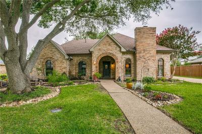 Coppell Single Family Home Active Option Contract: 132 Oakbrook Drive