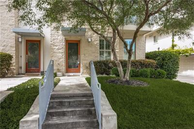 Dallas Townhouse For Sale: 5611 Lewis Street