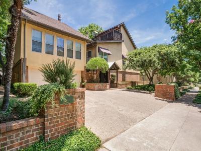 Dallas Townhouse For Sale: 4211 Prescott Avenue #1