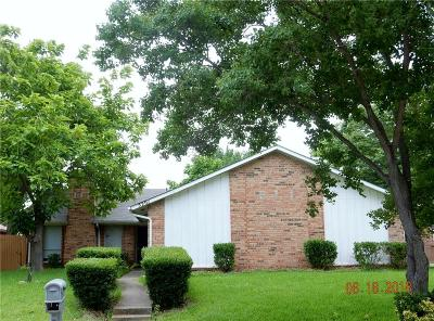 Garland Residential Lease For Lease: 5201 Barcelona Drive