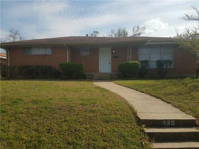 Dallas Single Family Home For Sale: 980 Green Castle Drive