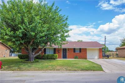 Brownwood Single Family Home Active Option Contract: 500 Parkway Drive