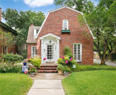 Dallas Single Family Home For Sale: 6200 Bryan Parkway