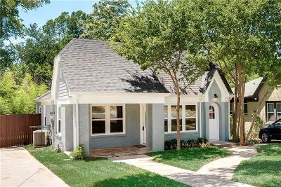 Dallas Single Family Home For Sale: 309 S Briscoe Boulevard
