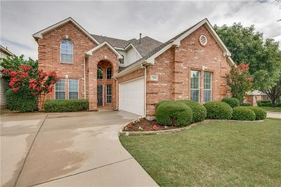 McKinney Single Family Home For Sale: 7300 Flat Bluff Court
