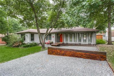 Dallas Single Family Home For Sale: 1719 Whittier Avenue