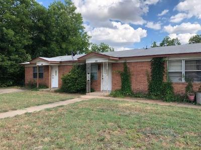 Mineral Wells Multi Family Home For Sale: 800 SE 18th Street