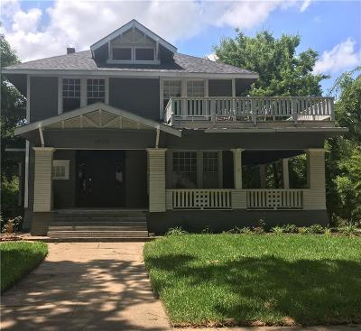 Corsicana Single Family Home For Sale: 1208 W 3rd Avenue