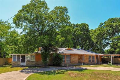 River Oaks Single Family Home Active Option Contract: 701 Roberts Cut Off Road