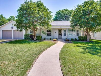 Fort Worth Single Family Home Active Kick Out: 3719 S Hills Avenue