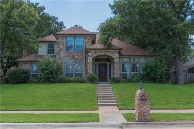 Corinth Single Family Home For Sale: 1419 Hidden Oaks Circle