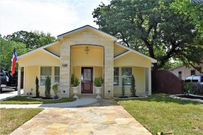 Fort Worth TX Single Family Home Active Contingent: $192,000