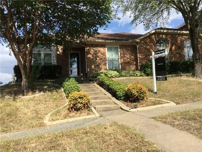 Cedar Hill Single Family Home Active Option Contract: 235 N Waterford Oaks Drive