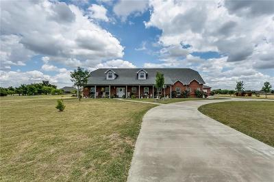 Azle Single Family Home Active Option Contract: 124 Rattling Antler Court