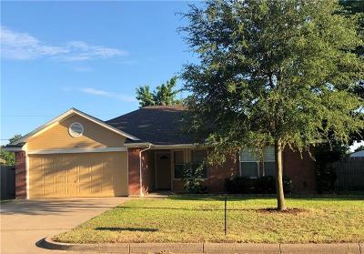 Burleson Single Family Home Active Option Contract: 420 Arnold Avenue