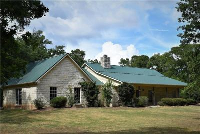 Groesbeck, Kosse Single Family Home For Sale: 189 Lcr 404