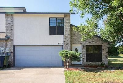 Garland Townhouse For Sale: 1227 Forest Cove Lane