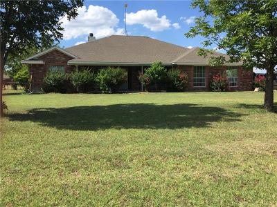 Azle Single Family Home Active Option Contract: 461 Clayton Road