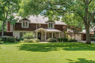 Dallas Single Family Home For Sale: 8514 Forest Hills Boulevard