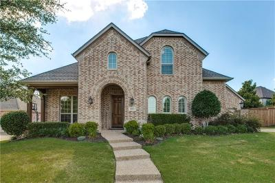 Prosper Single Family Home Active Contingent: 480 Willow Run