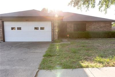 Mesquite Single Family Home For Sale: 1637 Windsor Drive