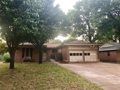 Single Family Home Active Option Contract: 409 N Bonham Drive