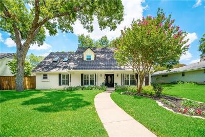 Dallas Single Family Home For Sale: 11819 Meadowspring Lane