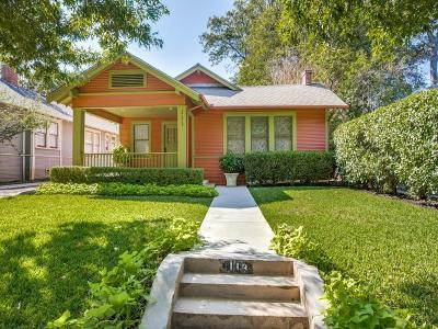 Dallas Single Family Home For Sale: 113 S Clinton Avenue