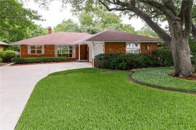 Dallas Single Family Home For Sale: 6821 Blessing Drive