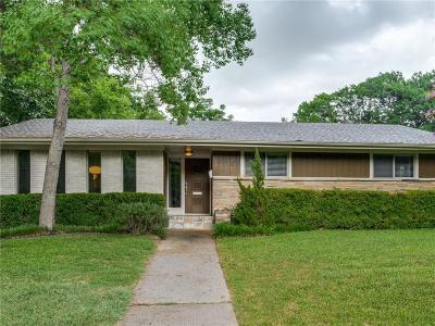 Dallas Single Family Home For Sale: 7710 Goforth Road