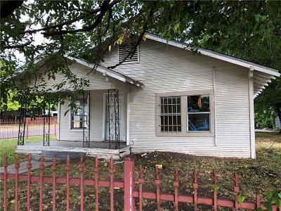 Dallas Single Family Home For Sale: 5442 Lindsley Avenue