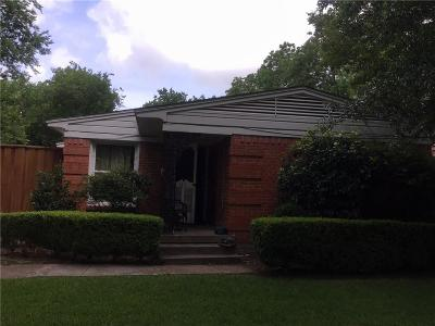 Dallas Multi Family Home Active Option Contract: 4817 Victor Street