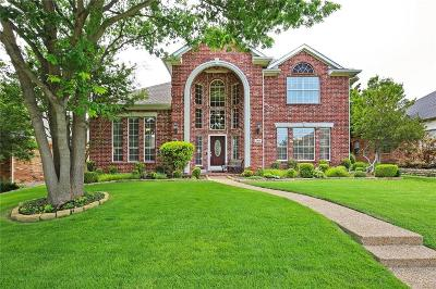 Plano Single Family Home Active Option Contract: 2924 Oak Tree Drive