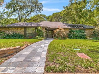 Fort Worth Single Family Home For Sale: 4012 Inwood Road