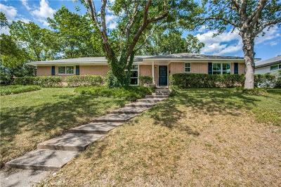 Dallas Single Family Home For Sale: 1529 Briarcrest Drive