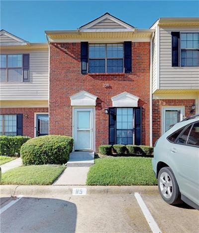 Coppell Condo For Sale: 208 Samuel Boulevard #5N