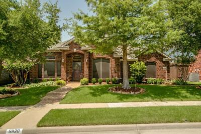 The Colony Single Family Home For Sale: 5920 Stardust Drive