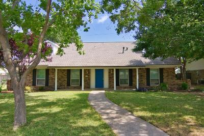 Richardson Single Family Home For Sale: 1203 Hillsdale Drive