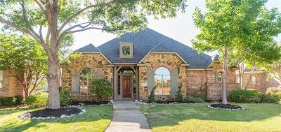 Allen Single Family Home Active Contingent: 1107 Neches Drive