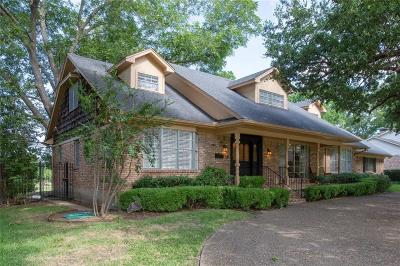 Mesquite Single Family Home For Sale: 312 Riggs Circle