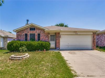 Fort Worth TX Single Family Home Active Option Contract: $169,900