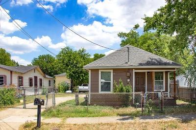 Dallas TX Single Family Home For Sale: $115,000