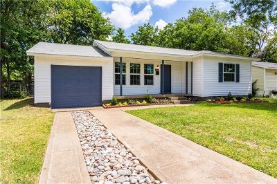 Irving Single Family Home For Sale: 2207 Cunningham Street