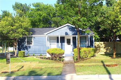 Mckinney Single Family Home Active Option Contract: 806 N Bradley Street