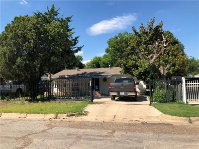 Fort Worth Single Family Home For Sale: 3016 27th Street