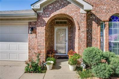 Fort Worth Single Family Home For Sale: 4713 Waterhill Court