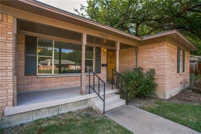 Dallas Single Family Home For Sale: 2355 Old Bridge Drive
